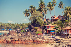 India. Beach landscape. Royalty Free Stock Image