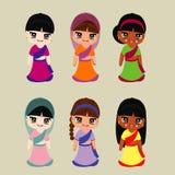 The india Beautiful  . Vector Illustration Design Royalty Free Stock Photo
