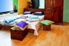 India bedroom horizontal Stock Photo