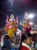 India bogów nati imli Varanasi zdjęcia stock