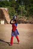 india bristvatten Arkivfoto