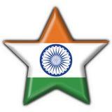 India button flag star shape Stock Photos