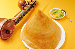 India cake. An india cake on a yellow table Stock Images