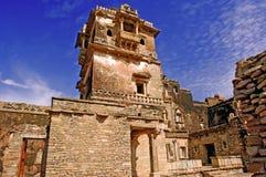India; Chittorgarh; citadela Imagem de Stock Royalty Free