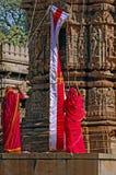 India, Chittorgarh: Jain ceremony Royalty Free Stock Photos