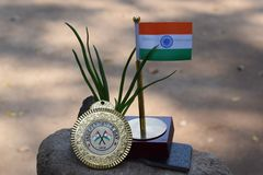 India country flag stock image