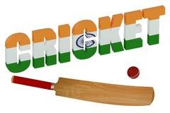 India Cricket concept Stock Photos