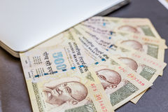 India currency, Rupee Stock Photo