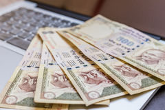 India currency, Rupee Royalty Free Stock Photography