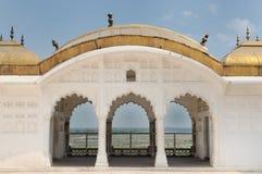 India, Czerwony fort w Agra Obraz Stock