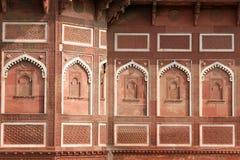 India, Czerwony fort w Agra Zdjęcia Royalty Free
