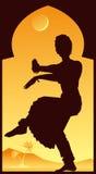 India, dança indiana Ilustração Stock