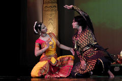 India dancing. The National Theatre in Bangkok will come alive with the exotic beat, rhythm and tempo of the world's drums during a two-day International Drum Stock Photos