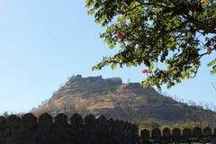 India Daulatabad fort Stock Image