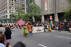 The 2015 India Day Parade NYC 2 Royalty Free Stock Photo