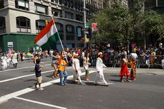 The 2015 India Day Parade NYC 5 Stock Photo