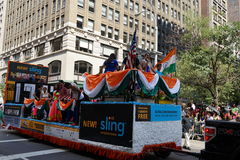 The 2015 India Day Parade NYC 68 Royalty Free Stock Images