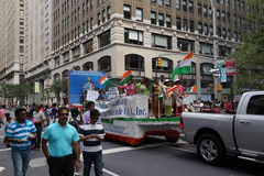 The 2015 India Day Parade NYC Part 2 4 Royalty Free Stock Image