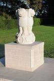 India in de Gebiedengedenkteken van Vlaanderen, Ypres, België royalty-vrije stock afbeeldingen