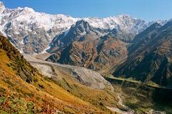 India, de gletsjer. Royalty-vrije Stock Afbeelding