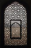 India, Delhi: Humayun tomb. India, Delhi: This window belongs to an ancient building; the tomb complex of Ali Isa Khan niazi which is situated beside the Royalty Free Stock Photos