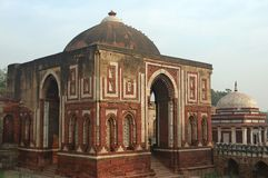 India, Delhi: Minar Qutub stock afbeelding