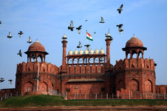 India, Delhi, the Red Fort Royalty Free Stock Photography