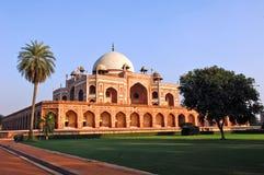 India, Deli: Túmulo de Humayun Fotos de Stock Royalty Free