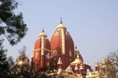 India, Deli, templo do Hinduism imagem de stock