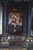1977 india Den heliga relikskrin av Triloknath Royaltyfria Bilder