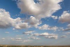 India desert sky Royalty Free Stock Photo