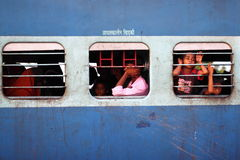 India dworzec Obrazy Stock