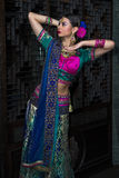 India dziewczyna Obraz Royalty Free