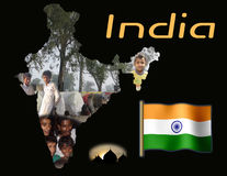 India Educational Poster Stock Images