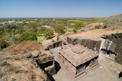 India - Ellora Royalty Free Stock Images