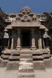 India, Ellora Buddhist cave Stock Photos