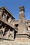 India, Ellora Buddhist cave Stock Photos