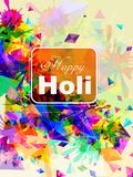 India Festival of Color Happy Holi background Stock Photos