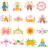 India festival Happy Dussehra background Royalty Free Stock Photography