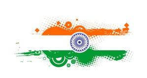 India flag. Flag of India with white background Royalty Free Stock Image