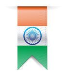 India flag banner illustration design Stock Photography