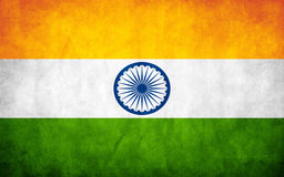 India Flag Royalty Free Stock Photos