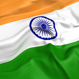 India  flag picture Stock Photography