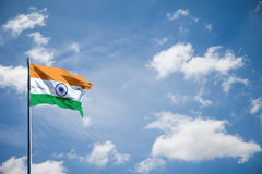 India flag Royalty Free Stock Photo