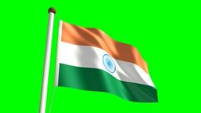 India Flag Royalty Free Stock Photo