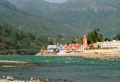 India, Gang near Rishikesh. Royalty Free Stock Photography