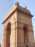 India Gate. Is a majestic high arch built as a memorial to the Indian soldiers killed in the World War I.It is called the All India War Memorial. The foundation Stock Image