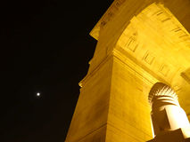 India gate at night  Stock Image