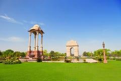 India Gate. New Delhi, India Stock Photos