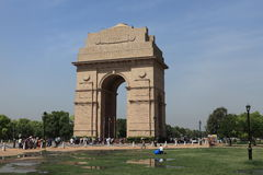 The India Gate in Delhi India Royalty Free Stock Images